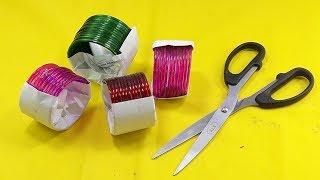 Amazing craft idea | Diy old bangles reuse idea | DIY arts and crafts | Best craft idea thumbnail