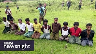 Rohingya crisis: Reuters journalists held 'for investigating Myanmar killings' - BBC Newsnight