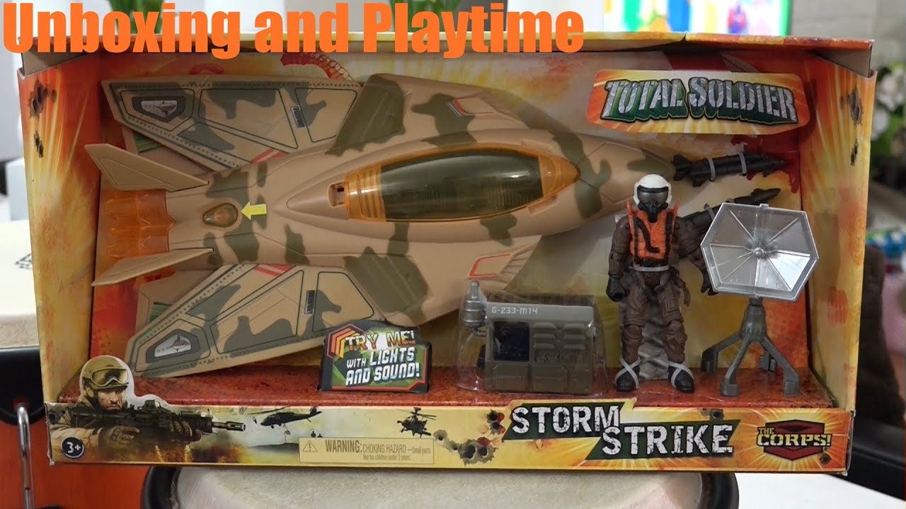Toy Soldiers: Unboxing Hulyan\'s Fighter Jet Toy Plane. Military ...
