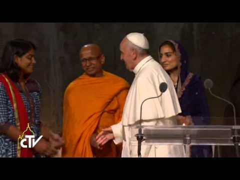 Pope Francis: 'we ask heaven for the gift of peace'