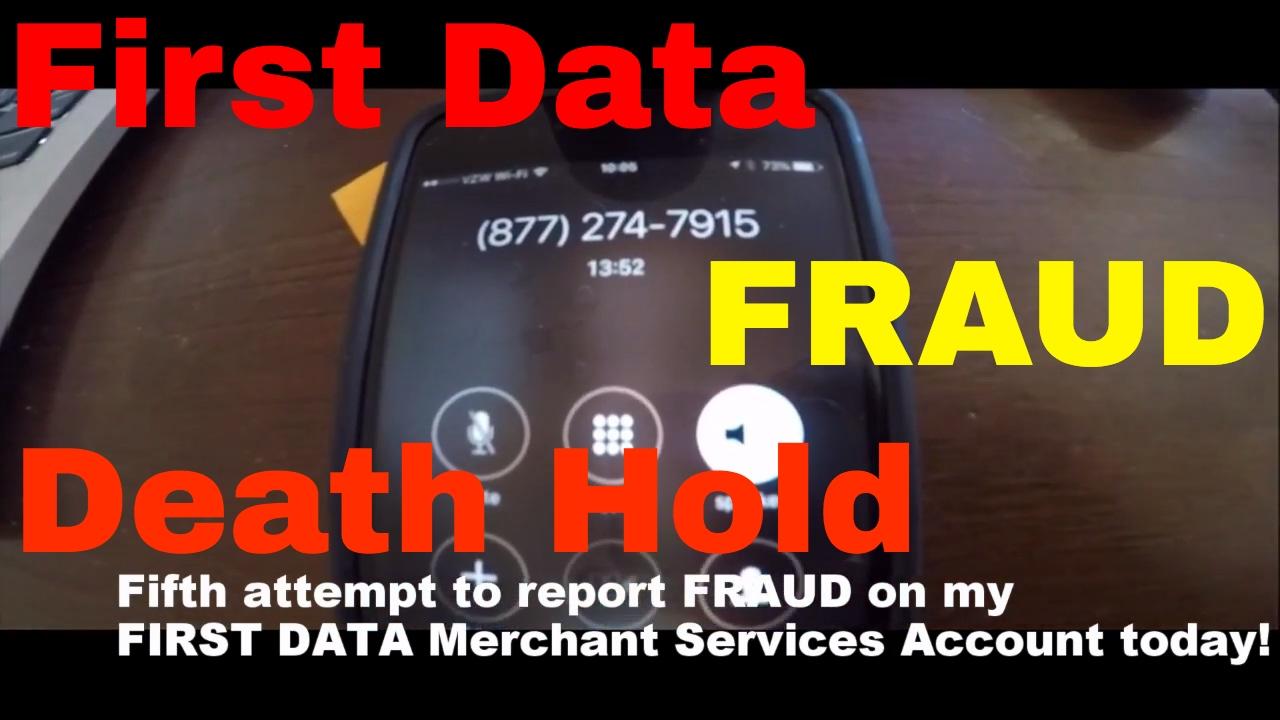 Fraud Alert: First Data / Wells Fargo Merchant Services Death Hold