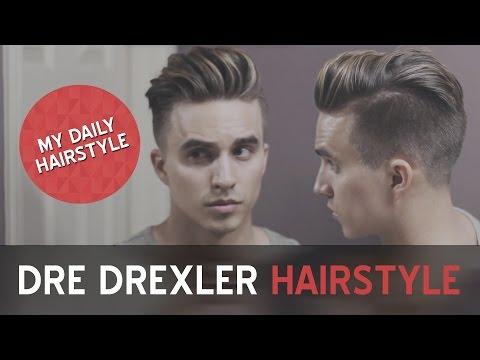 My Daily Hairstyle   Dre Drexler Undercut   Men's Hairstyles