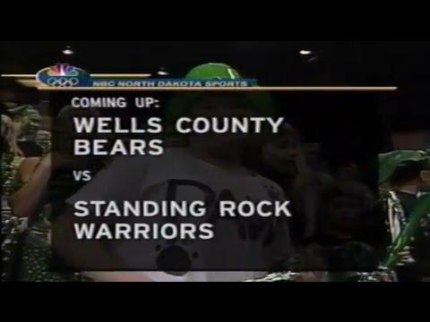 2002 Class B Basketball Wells County vs Standing Rock