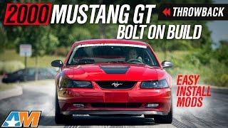 2000 Mustang GT Throwback Build - Airaid Intake, Flowmaster Cat-back, SR Springs, FR Gears