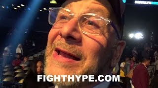 LOU DIBELLA REACTS TO ADRIEN BRONER AND JESSIE VARGAS FIGHTING TO A DRAW: