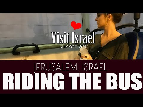 Riding the Bus in Jerusalem