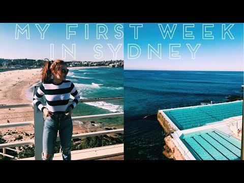 STUDY ABROAD SYDNEY AUSTRALIA // MY FIRST WEEK