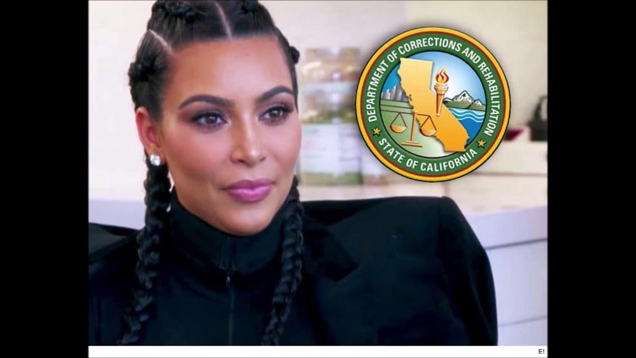 Kim Kardashian West Visits Women's Prison