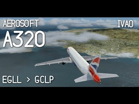 Prepar3D | Flying With British Airways Virtual on IVAO | EGLL - GCLP