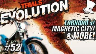 Hatventures - Trials Evolution #52 - Tornado 4! Magnetic City! UC BMX Park!
