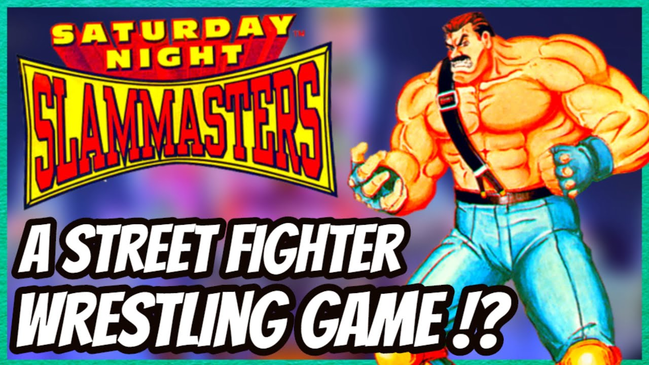 SATURDAY NIGHT SLAM MASTERS HISTORY - THE STREET FIGHTER WRESTLING GAME !?