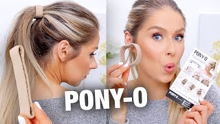PONY-O HAIR ACCESSORY REVIEW