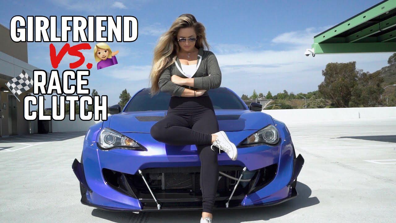 My Girlfriend SMOKES my clutch (Sabrina finally drives the ...