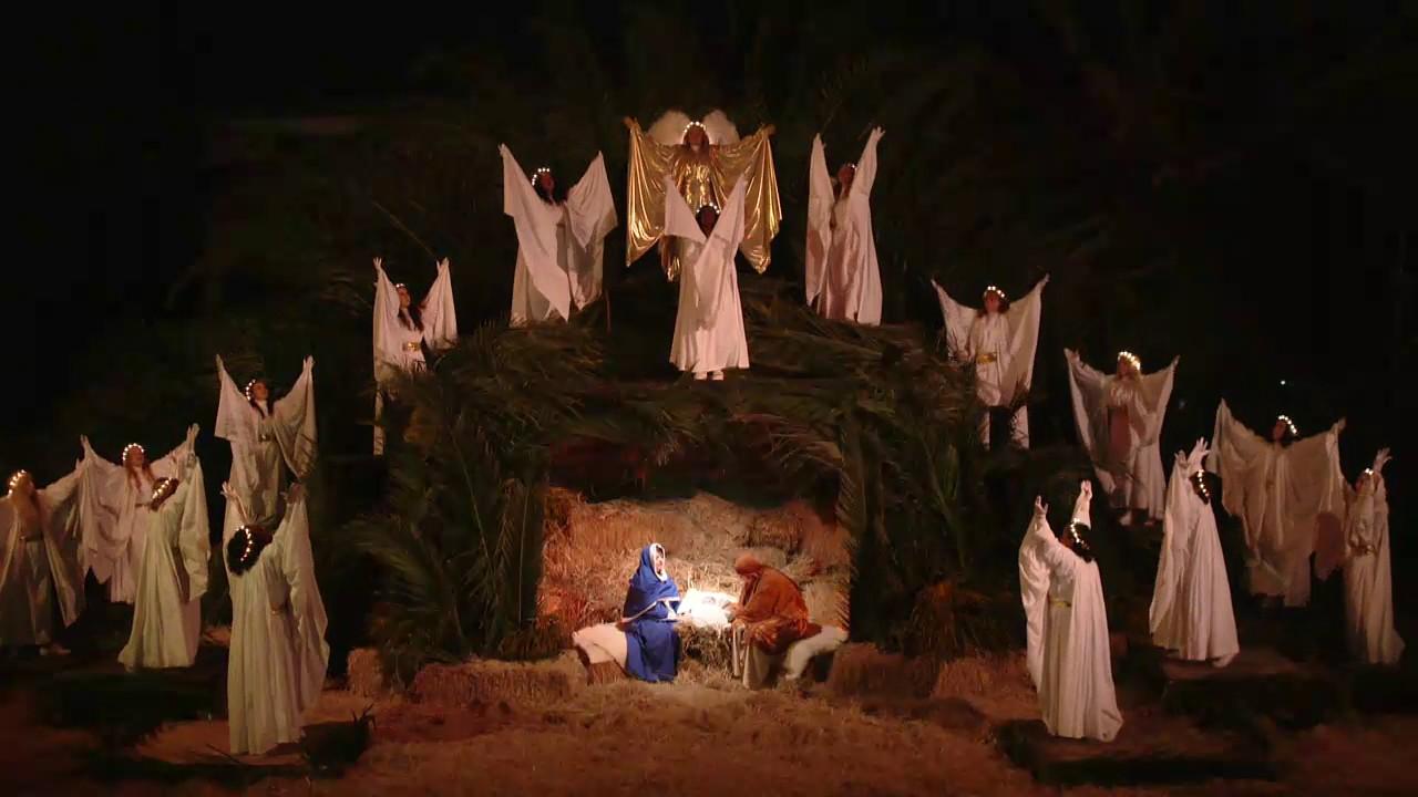 Bethlehem AD 2016 Live Nativity Scene
