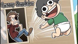 SOUNDBOARD BABY NOGLA VS GRANNY TERRORISER! | Granny Simulator