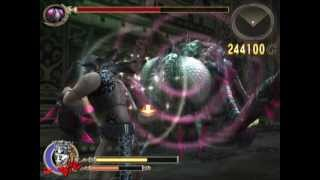 Let's Play God Hand Mission 7-5 Boss Fight: The Four Devas' Leader