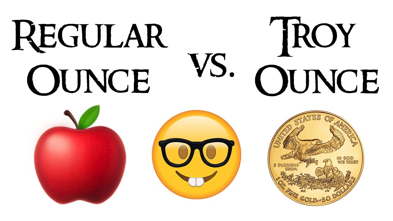 What Is The Difference Between A Regular Ounce And Troy