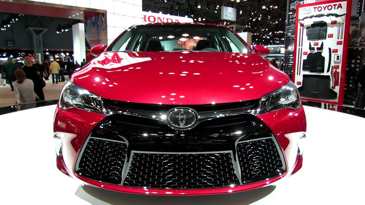 2015 Toyota Camry XSE - Exterior Walkaround - Debut at ...