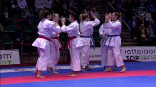 Karate 1-Premier League in Rotterdam crowned new heroes of the sport