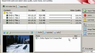 How to Copy (combine / merge) Multiple DVDs to One DVD using NERO Recode