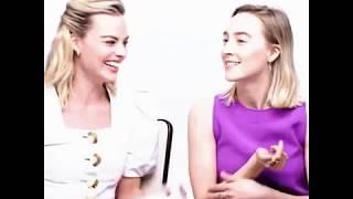 Margot Robbie and Soairse Ronan edit