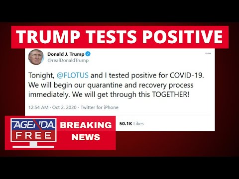 Trump Tests Positive for Coronavirus - LIVE BREAKING NEWS COVERAGE