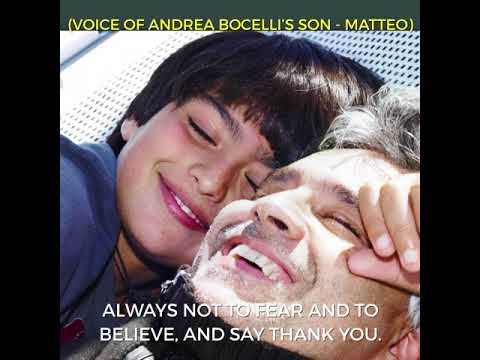 #AB2018 - Matteo Bocelli - Teaser 5
