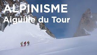 Aiguille du Tour voie normale Chamonix Mont Blanc alpinisme Refuge Albert Premier - 8501