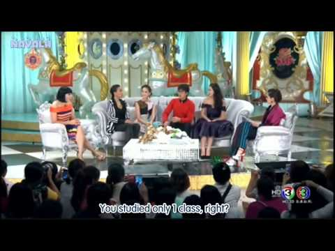 [NAYALH ENG SUB]150315 Nadech 3 Zaap Show Cut the part related to Yaya