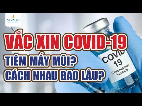 Vắc xin COVID-19 phải tiêm mấy mũi? Cách nhau bao lâu?
