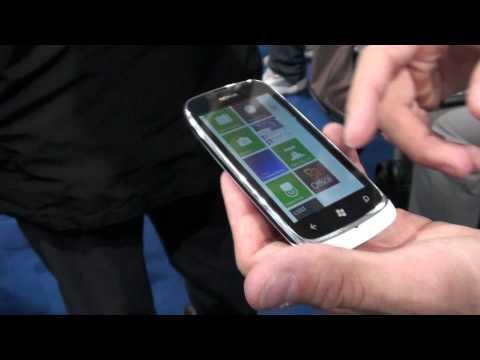 Nokia Lumia 610 demo