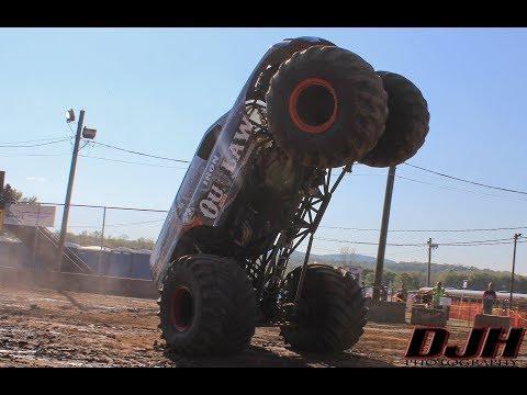 Durham Fair 2017 Monster Truck Show *GoPro Footage*