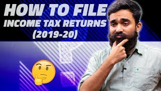 How to File Income Tax Returns (ITR) Online for AY 2019-20
