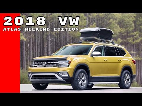 2018 VW Atlas Weekend Edition