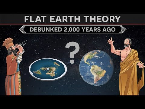 Flat Earth Theory - How Was It Debunked 2,000 Years Ago? thumbnail