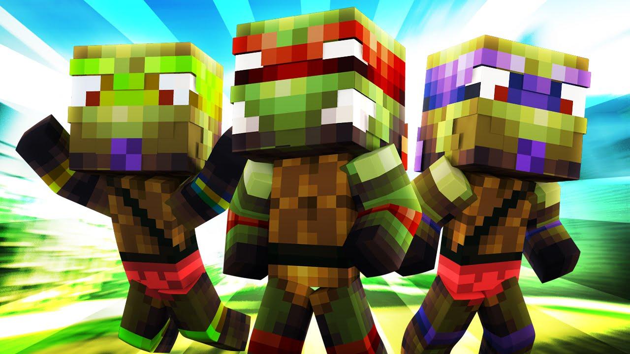 Minecraft Daycare Baby Mutant Ninja Turtles Youtube