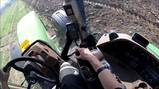 John Deere 8200 | original sound | orba | head view | GoPro Hero Session