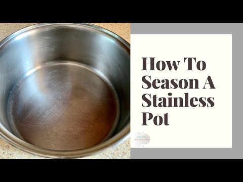 How to clean burnt stainless steel frying pan