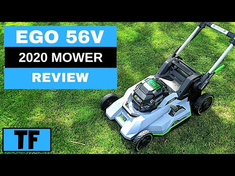 "EGO (2020) 56V BATTERY 21"" LAWN MOWER SELF PROPELLED SELECT CUT Power+ Review 