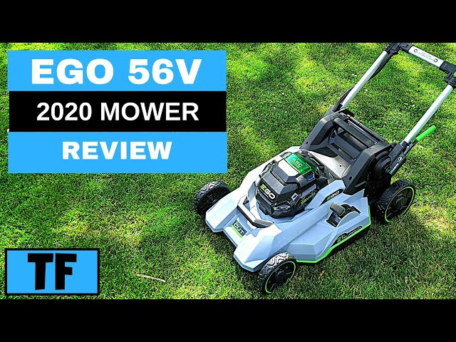 Ego 2020 56v Battery 21 Lawn Mower Self Propelled Select Cut Power Review From Home Depot Youtube