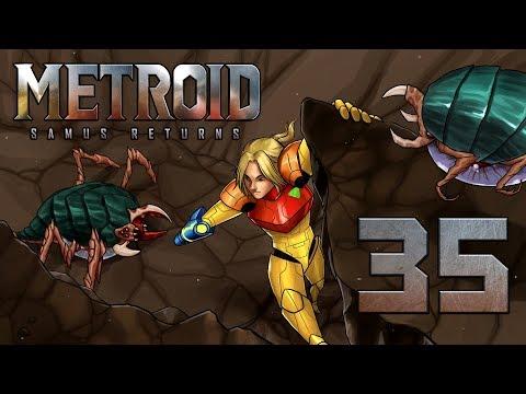 Let's Play Metroid Samus Returns [German][Blind][#35] - Reisen mit dem Baby-Metroid!