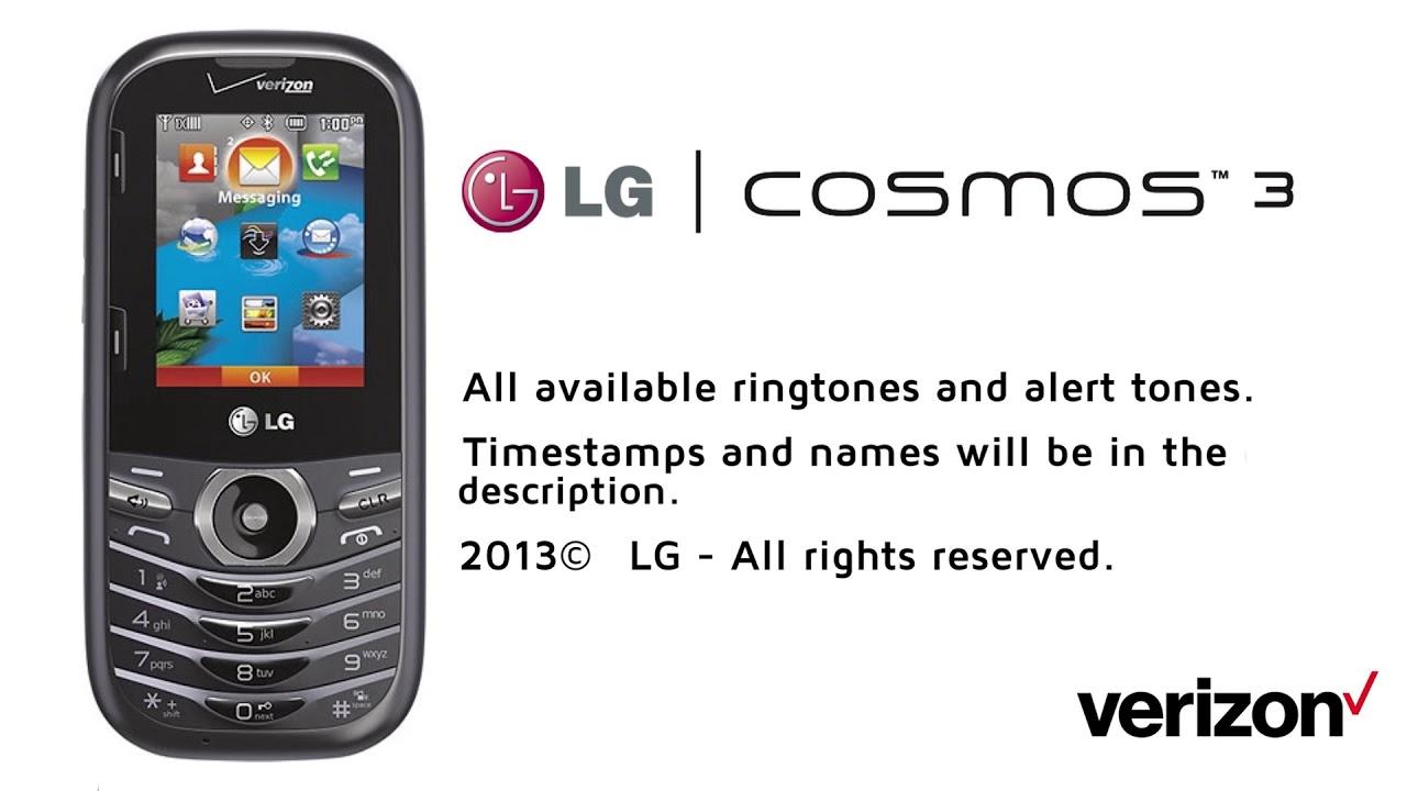 LG Cosmos 3 - All Ringtones & Alert Tones (Direct Rip)