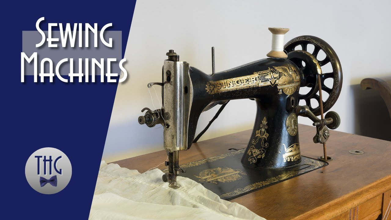 The Forgotten History of Sewing Machines