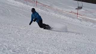 2018/01/05 だいくらスキー場 滑走チェック カービング
