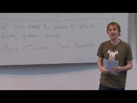 Systems biology course 2014 Jean Hausser: Biological background for computational students