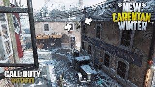 CoD WWII *NEW* Insane Carentan-Winter Glitch/Spot