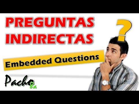 Cómo Aplicar Fácilmente Preguntas Indirectas Embedded Questions En Inglés Youtube