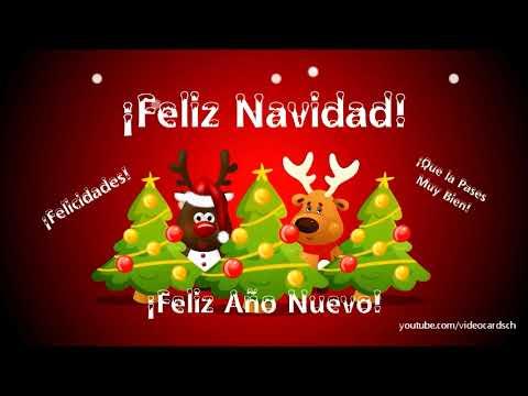 Tarjetas navide as animadas feliz navidad y feliz a o - Tarjetas felicitacion navidad ...