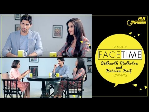 Sidharth Malhotra & Katrina Kaif Interview | Face Time