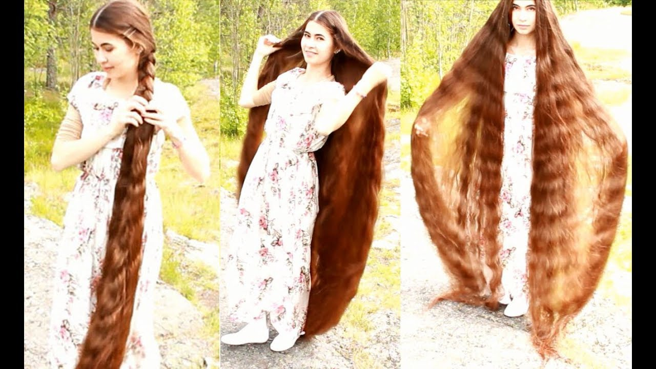 My Very Long Hair 19 Helsinki Finland Real Life